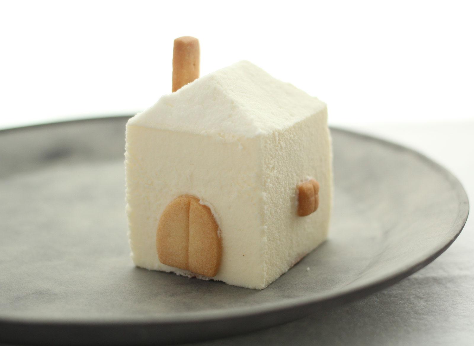 おかしの森 くるみ お家の形をしたレアチーズケーキ「メゾン」